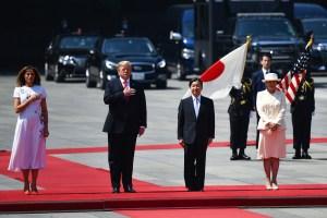 Trump se convierte en primer mandatario extranjero que visita al emperador Naruhito
