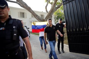 Comisión de Relaciones Exteriores del Gobierno interino celebró que López se reuniera con su familia