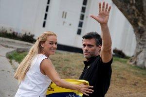 Lilian Tintori felicitó a Leopoldo López Gil por su victoria en el Parlamento Europeo