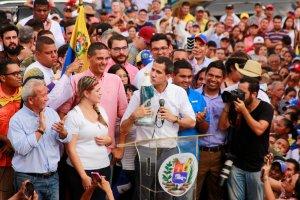 Guaidó en Lara: Hemos atendido casi cien mil personas con la ayuda; deben ser siete millones
