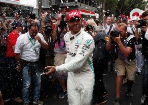 Lewis Hamilton vencedor del Gran Premio de Mónaco