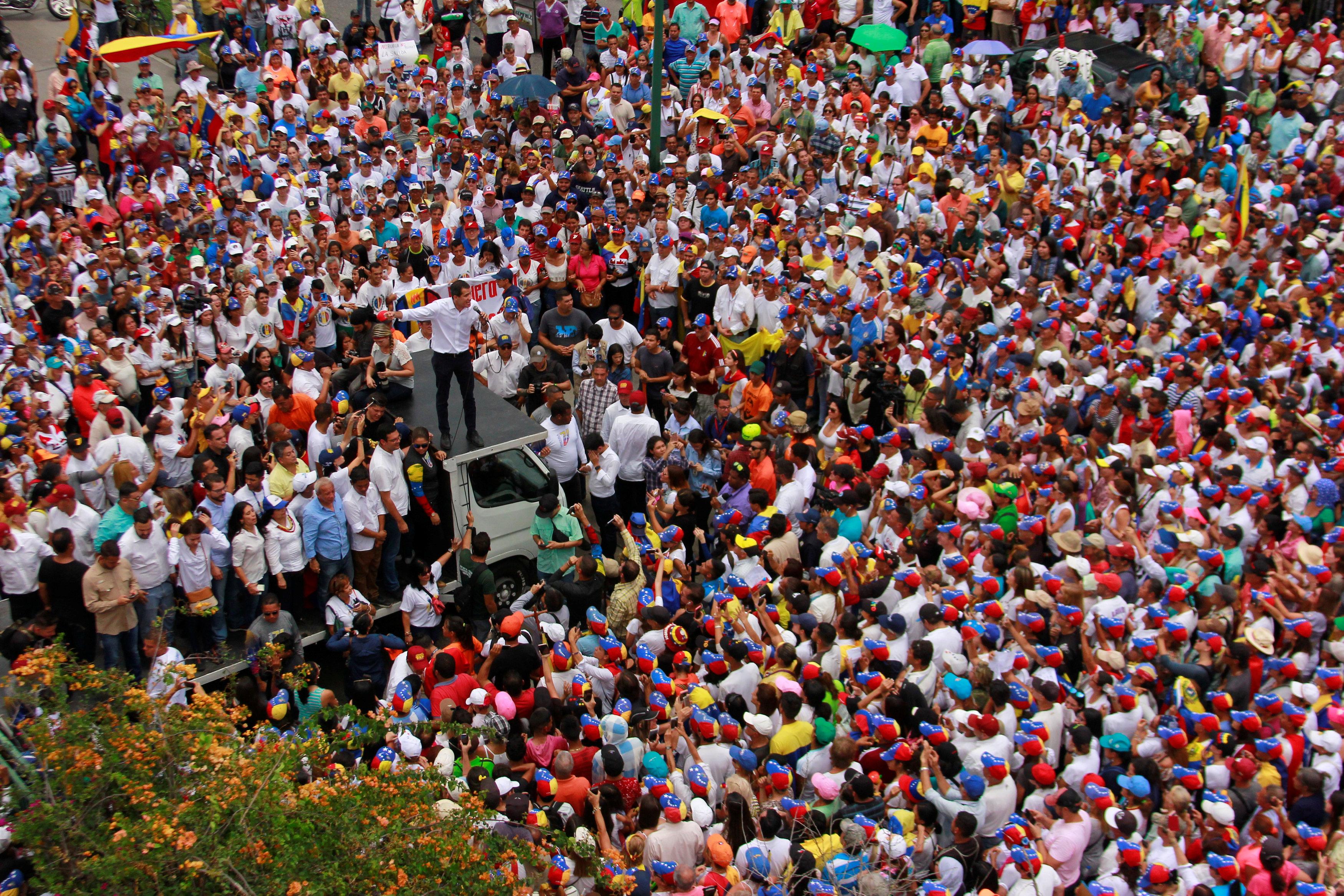Las concentraciones de Guaidó en Lara ponen a tambalear al régimen (FOTOS)