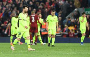 Así vivió Shakira la eliminación del Barcelona ante Liverpool en la Champions (VIDEO)