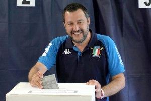 Partido de Matteo Salvini es el más votado durante elecciones europeas en Italia