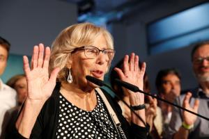 Manuela Carmena abandonará el ayuntamiento de Madrid pese a victoria en municipales