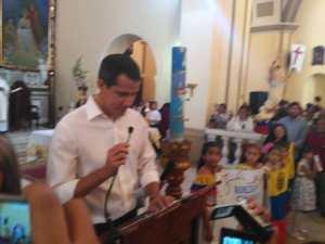 EN VIDEO: Las peticiones de Juan Guaidó a Dios y a la Divina Pastora en Barquisimeto #26Abr