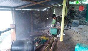 Destruyen deposito ilegal de cocaína del Eln y el Cartel de Sinaloa en Colombia, sustancia salía a través de Venezuela
