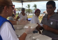 Coalición de Ayuda y Libertad con Rescate Venezuela atendieron a más de 400 personas en Nueva Esparta