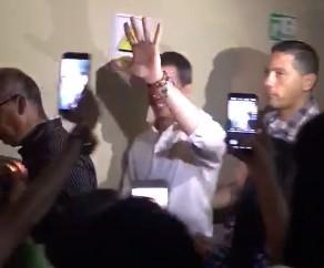 EN VIDEO: Guaidó es recibido con euforia en iglesia cristiana de Barquisimeto #26May
