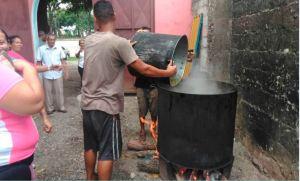 """En Imágenes: """"Olla Comunitaria"""" atendió a más de 400 personas de escasos recursos en Acarigua"""