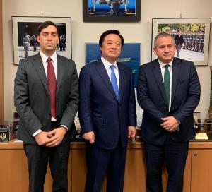Delegación de Guaidó se reunió con Cancillería y Parlamento japonés