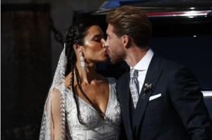 """EN FOTOS: La boda """"galáctica"""" de Sergio Ramos y Pilar Rubio"""