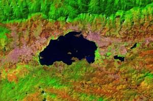 La impactante imagen satelital del Lago de Valencia