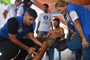Rescate Venezuela y la Coalición Ayuda y Libertad atendió a 180 Margariteños en sus casas