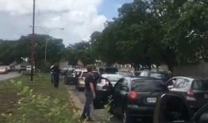 En Puerto Ordaz cierran las vías ante la falta de gasolina (Videos) #14Jun