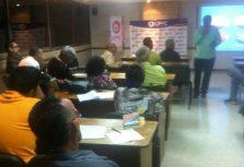 CPFC realizó segundo taller de liderazgo dirigido a dirigentes sociales de Caracas
