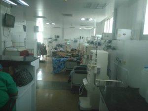 De 28 máquinas solo funcionan 8 en área de hemodiálisis del Seguro de La Guaira