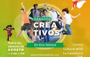 Para adultos y niños, agosto viene cargado de actividades en el Centro Cultural BOD