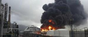 Sube a 10 el número de fallecidos en China por explosión en fábrica de gas