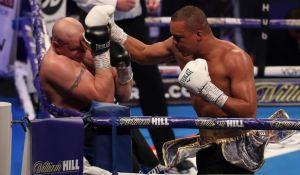 VIRAL: La insólita pregunta de un boxeador a su entrenador antes de ganar por nocaut