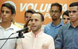 Organización juvenil del PP rechazó la persecución del régimen de Maduro contra el dirigente de VP Hasler Iglesias