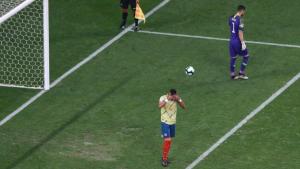 William Tesillo recibe amenazas tras errar el penal que eliminó a Colombia de la Copa América