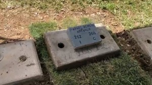 El detalle solemne y emotivo sobre la sepultura del C/C Rafael Acosta Arévalo (Foto)