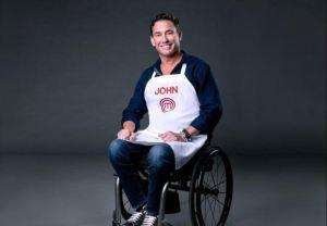El venezolano en silla de ruedas que superó las adversidades y hace historia en Masterchef