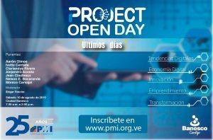 La primera edición del Proyect Open Day se celebrará en Caracas