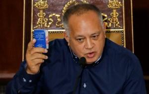 """Diosdado amenaza con convocar unas eventuales """"elecciones"""" legislativas en 2020"""
