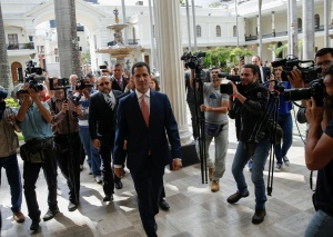 """""""Barbados se agotó"""": Guaidó inició etapa de mayor presión contra el régimen (Comunicado)"""
