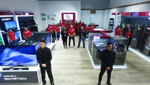 LG GAD Tecnology inauguró su tercera tienda en Los Aviadores