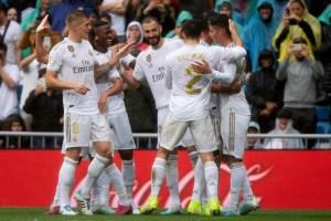 El Real Madrid se lleva un susto pero le gana 3-2 al Levante