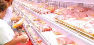El precio de la carne aumentó y el pollo bajó