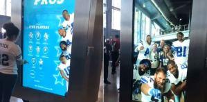 Cowboys de Dallas usan la realidad virtual para cumplir el sueños de sus aficionados (Video)