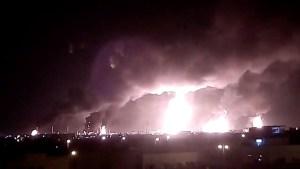 Barril se dispara casi 20% por ataques a instalaciones de crudo saudíes