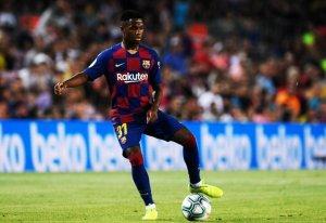 Barcelona goleó a el Valencia en una noche mágica para Ansu Fati