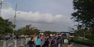 Gran flujo de Venezolanos se desplazan hacia Colombia por el puente internacional Simón Bolívar #16Sep (FOTOS)