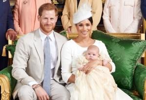 Meghan Markle felicita al príncipe Harry con el mensaje más romántico y una nueva foto de Archie