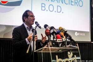 Presidente de BOD: La medida de Sudeban no afecta el funcionamiento normal del banco