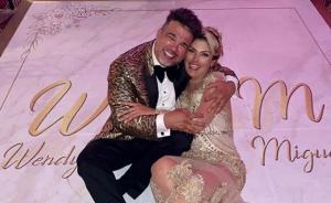 Publican las FOTOS más esperadas: Así fue el bonche de Miguel Moly en su boda con Wendy Villalobos