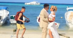 Así fue el making off de la boda de Miguel Moly y Wendy Villalobos (VIDEO)