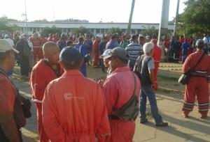 Trabajadores de Pdvsa Amuay protestan  por malas condiciones laborales #10Sep (Fotos)