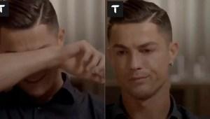 Cristiano Ronaldo llora al ver un video inédito de su difunto padre