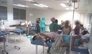 FOTOS indignantes: Parturientas pasan las de Caín en el Hospital Central de Barquisimeto