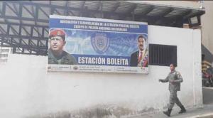 Abarrotada de presos continúa la zona 7 de la PNB en Boleíta luego de reyertas y homicidios