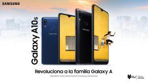 A10S revoluciona a la familia Galaxy A