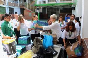 Voluntariado Banesco se solidarizó con escuela Avec