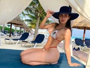Joselyn Cano, la Kim Kardashian mexicana que enamora con sus peligrosas curvas (DIOSS)