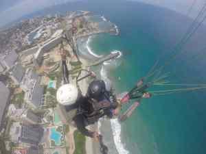 El Litoral Central desde las alturas: La aventura de volar en parapente (Fotos)